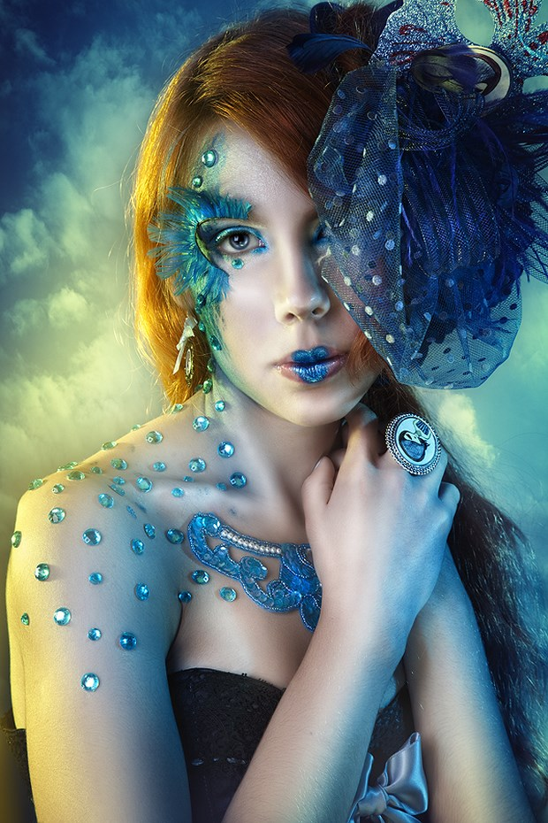 Fantasy Makeup Photography Inspiration | Downgraf.com