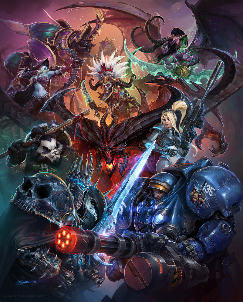 Heroes of the Storm by Mr–Jack on deviantART