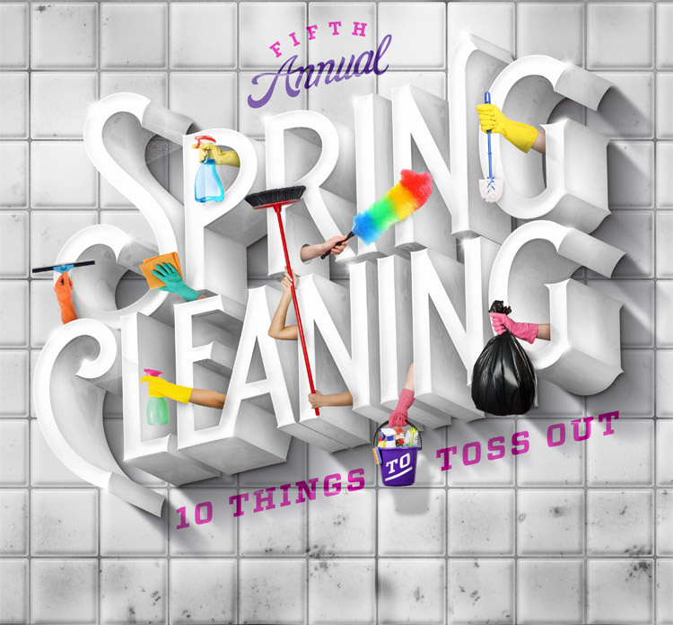 The Washington Post – Outlook, Spring Cleaning