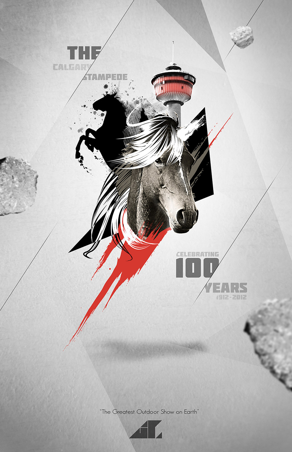 Calgary Stampede 100th Anniversary Poster