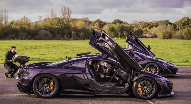 Driving the McLaren P1 hypercar