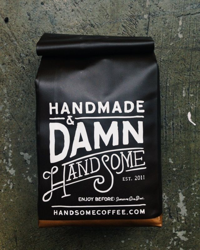 Funny typographical packaging