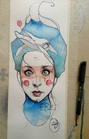 How i do my Drawings by Jari Di Benedetto
