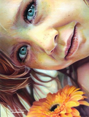 Realistic Painting that allure
