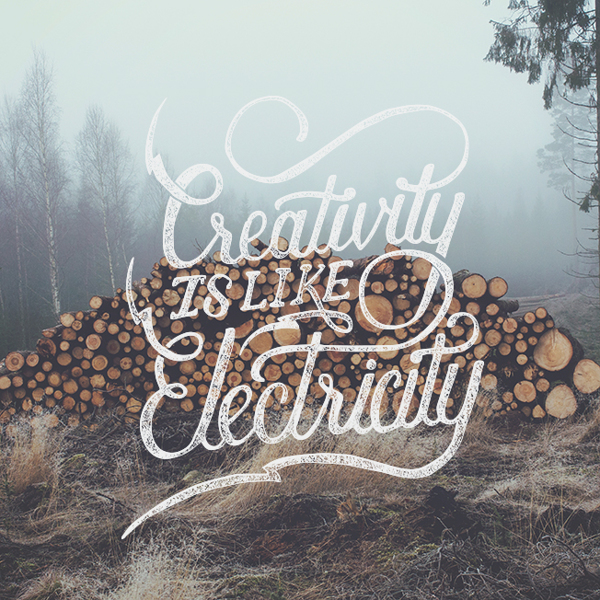 Hand Lettering by Nicolas Fredrickson