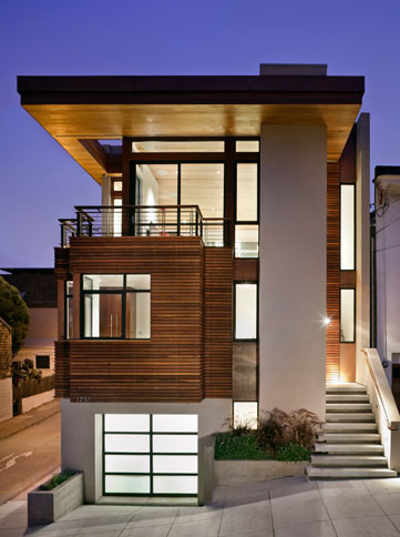 Contemporary House Design With Cozy Interior on Sloping Site | Flickr – Photo Sharing!