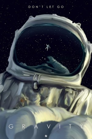 Doaly's Stunning Alternative Poster For 'Gravity'