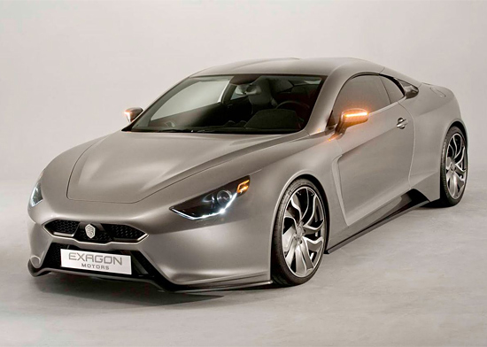 Exagon Motors Furtive eGT Electric Sports Car | Inspiration Grid | Design Inspiration