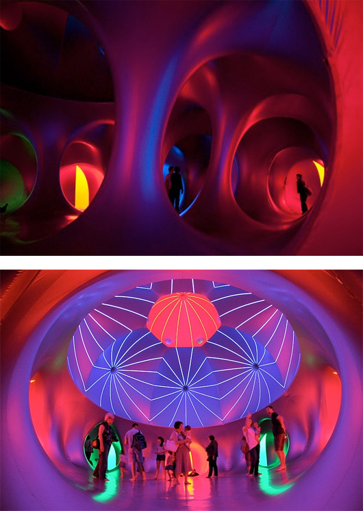 Futuristic Inflatable Domes by Architects of Air
