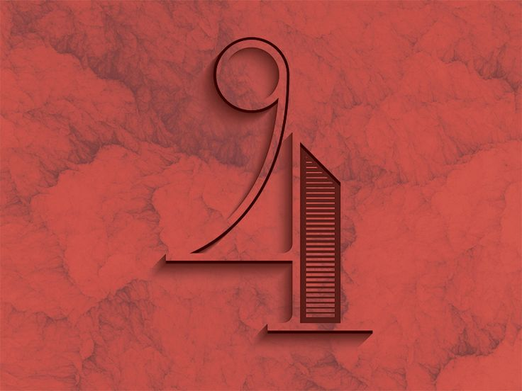 Good Ole Number 4 – Typography