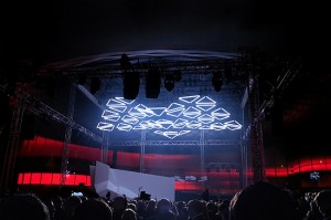 GRID: Audiovisual Installation by WHITEvoid & Monolake | Inspiration Grid | Design Inspiration
