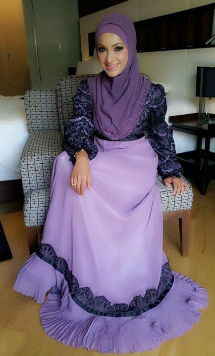 Purple Abaya | Really Attractive