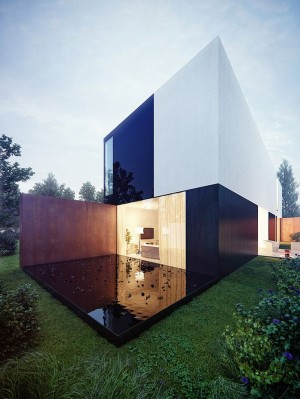 KMA – Highly-contrasted house