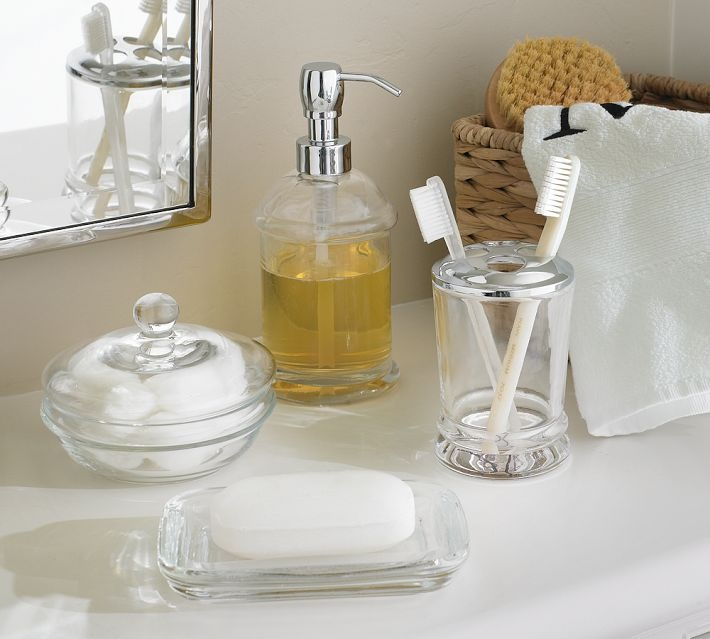 Classic Glass Bath Accessories