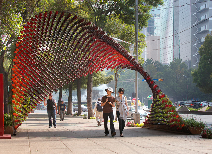 Portal of Awareness made of Mugs by Rojkind Arquitectos