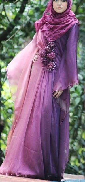 Purple Outfits Hijab Inspiration