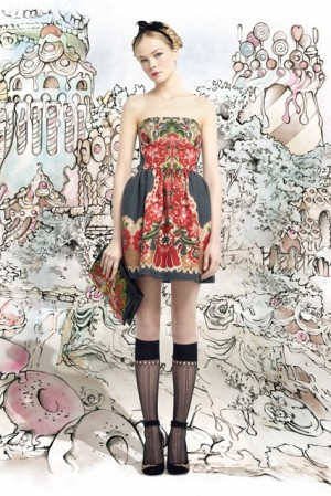 Red Valentino – AUTUMN/WINTER 2013-14 READY-TO-WEAR