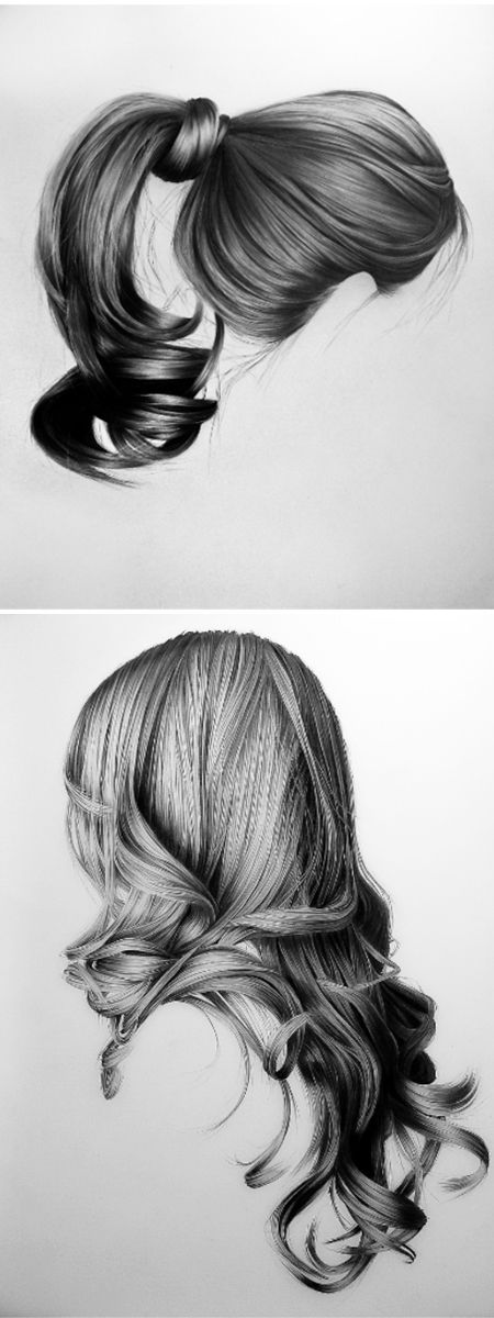 Sketches of Hairs | Really Nice