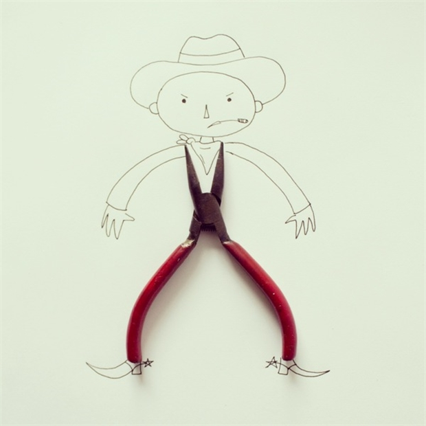 Turn Simple Objects into Creative Illustration by Javier Perez | Part 1 | Downgraf