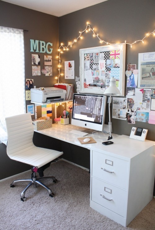 cute office space | Interior happiness
