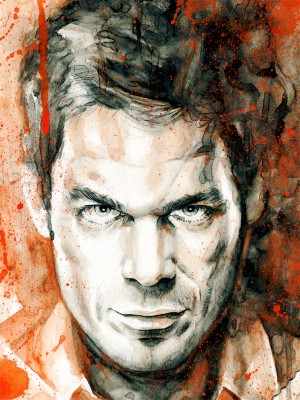 Illustration – Dexter Morgan – The Dark Passenger