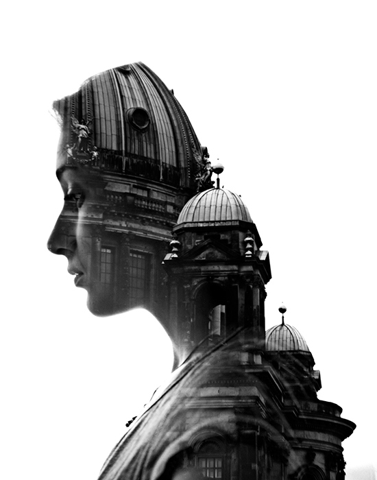 Double Exposure Portraits by Aneta Ivanova | Inspiration Grid | Design Inspiration