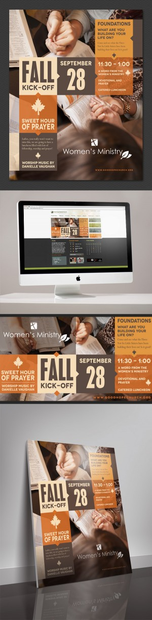 GHBC Fall Event Graphics on Behance