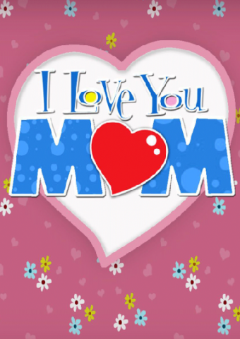 Greeting Cards : Love You Mom Card