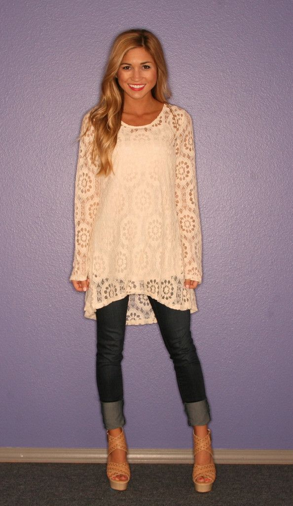 Lace Seaside Tunic | Love this Style