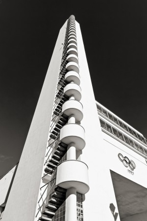 SCANDINAVIAN COLLECTORS – Helsinki Olympic Stadium tower, by Yrjö Lindegren…