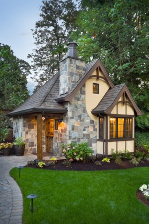 The Rivendell Manor – traditional – exterior – portland – by Alan Mascor ...