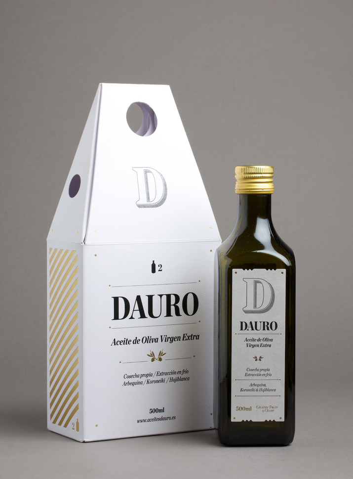 DAURO Extra virgin olive oil pack 2 bottle by Lo Siento
