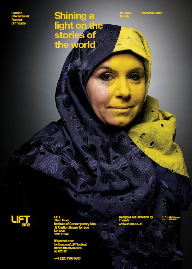 LIFT 2012 — Identity/Marketing – The London International Festival of Theatre, directed by ...