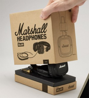 Marshall Headphones Preview — The Dieline