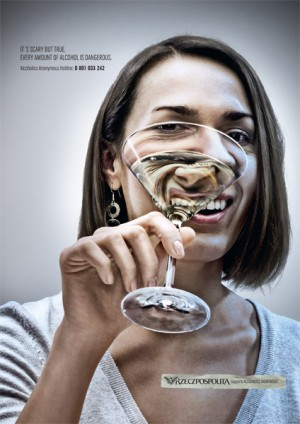 """SCARY, BUT TRUE"", social awareness campaign"