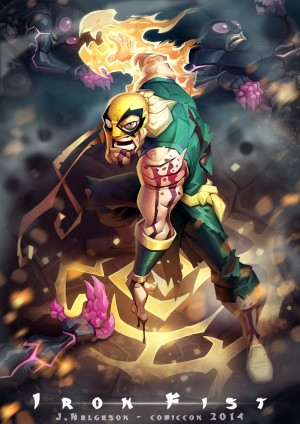 Iron Fist Comic Con 2014 by kaktuzlime