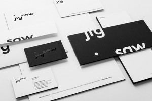 Logotype and stationery designed by Pentagram for production company Jigsaw.
