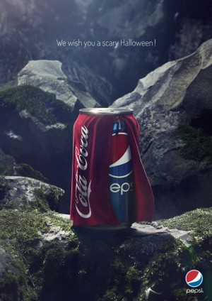 In Its Halloween Ad, Pepsi Dresses Up As Coca-Cola