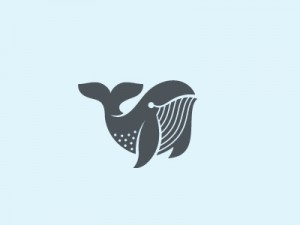 Whale by George Bokhua – logo