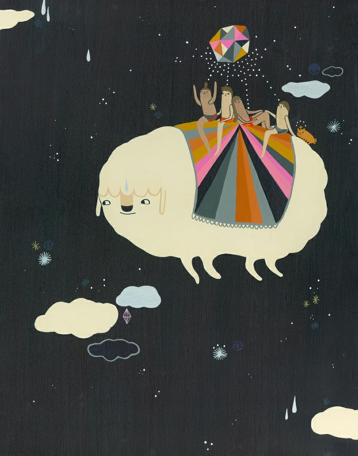 CLOUD TRAVEL by Laura Berger