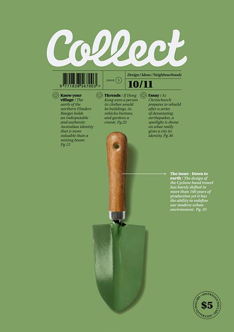 Collect magazine – Annual Reports and Editorial Layout