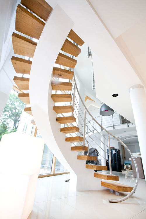 Contemporary Staircase From A London Home