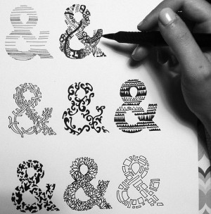 Hand Lettering,