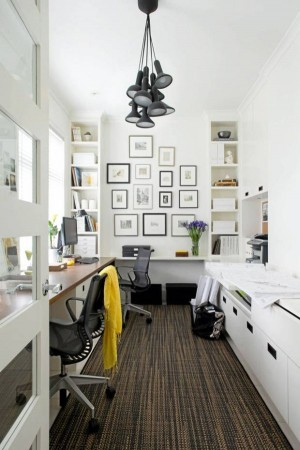 Decorating A Black & White Office: Ideas & Inspiration