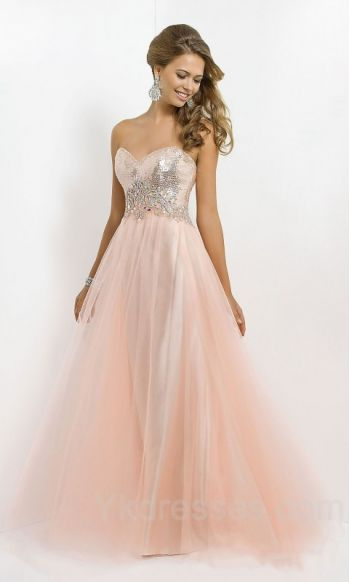 Embellished Floor Natural A Line Sleeveless Sweetheart Prom Dress