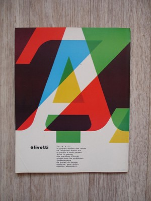 Graphis 115 –– 1964 – Back cover advert