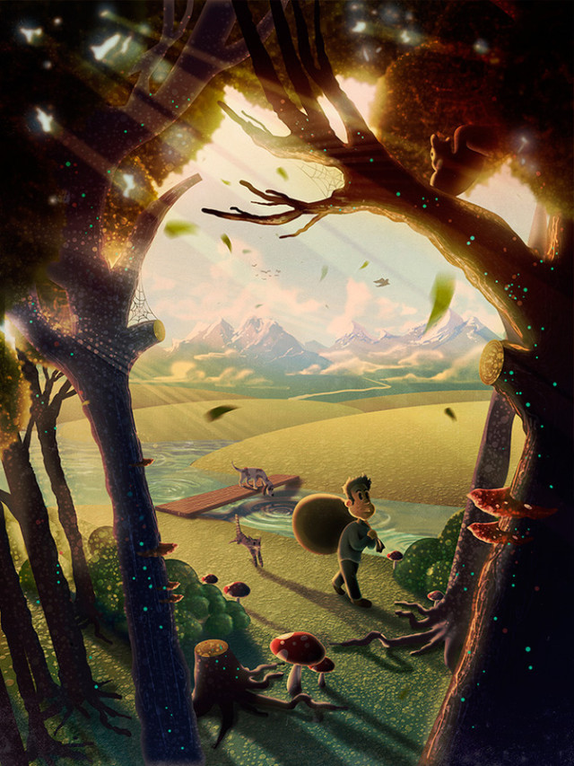 Illustrations by Aaron Campbell