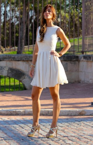 Kuka & Chic Shop White Night Out Dress