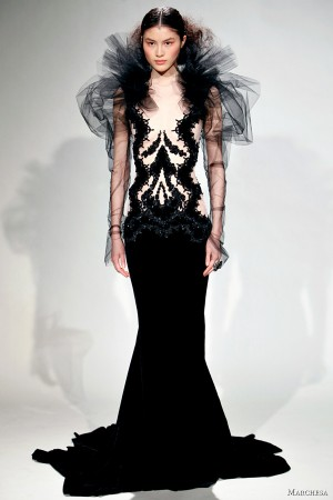 Marchesa Fall/Winter 2011 Dresses | Wedding Inspirasi