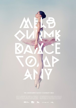 Identity and Poster design for the Melbourne Dance Company 2012